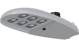 LED - COB Street Light / Roadway / Cobra Head - L6 (6 Lens)