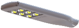 LED - Modular Street Light / Roadway / Cobra Head - M3