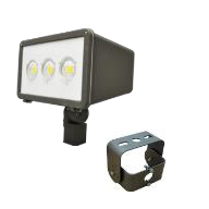 LED - Flood - Slip Fitter (SF) or Yoke Mount (YK) Included