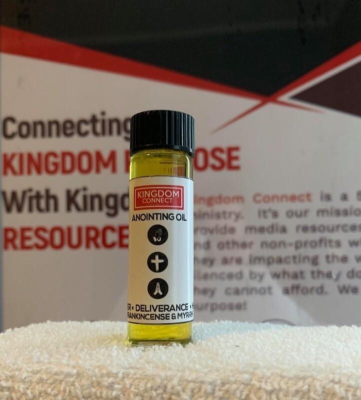 1/2 Oz Bottle of Frankincense & Myrrh Anointing Oil