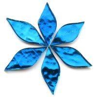 Mirror Petals - Peacock Blue