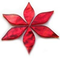 Mirror Petals - Red