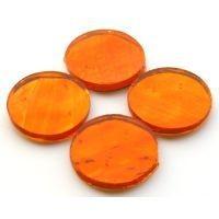 Mirror Circles 25mm, Orange