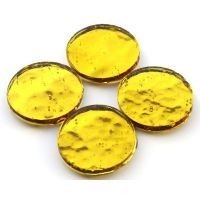 Mirror Circles 25mm, Gold