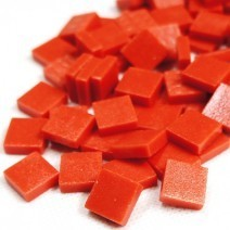 12mm: Matte Bright Red