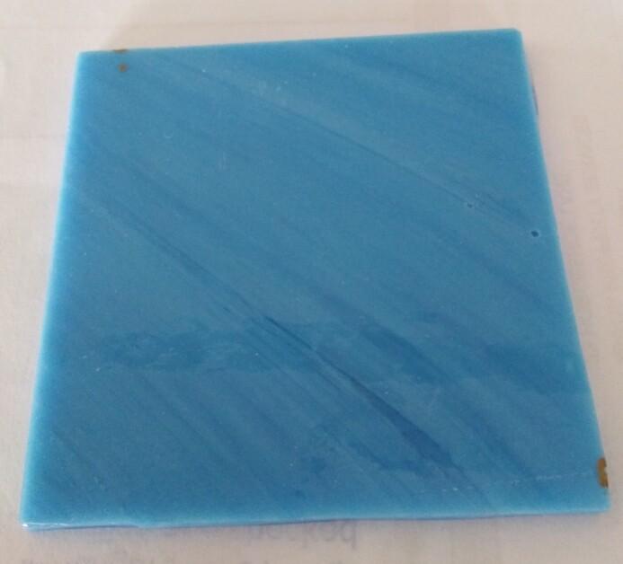 Wissmach Reactive Blue Wispy on clear