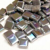 12mm: Charcoal Iridised