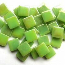 12mm: Mint Green Iridised