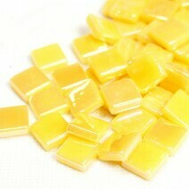 12mm: Corn Yellow Iridised