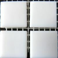 Flat white, 20mm Silk