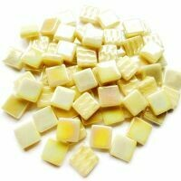 12mm: Cream Iridised