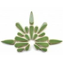Ceramic Teardrops: Jade