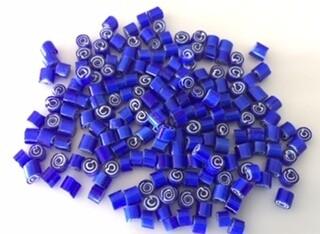 4/5 Blue spirals