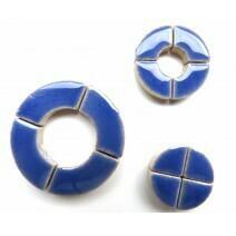 Ceramic Circles: Delphinium