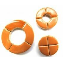 Ceramic Circles: Warm Sand