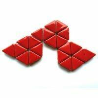 Poppy Red triangles