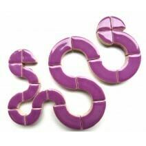 Ceramic Circles: Pretty Purple