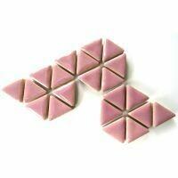 Ceramic triangles: Fresh Lilac