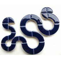 Ceramic Circles: Indigo