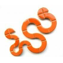 Popsicle Orange circles