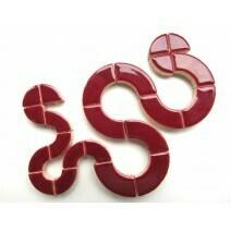 Ceramic Circles: Merlot