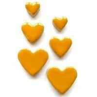 Ceramic hearts, curry