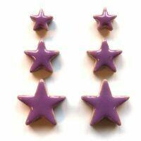Ceramic Stars, pretty purple