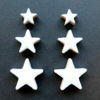Ceramic Stars, white