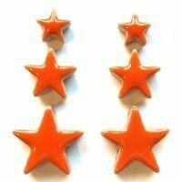 Ceramic Stars, popsicle orange