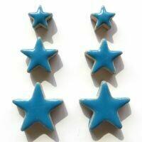 Ceramic Stars, thalo blue