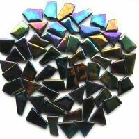Iridised Opal Black  snippets 049