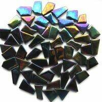 Iridised Opal Black  snippets 049