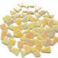 Iridised Cream snippets 092