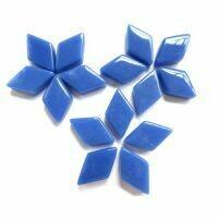 Warm Blue Diamonds