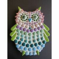 Small Owl - blue