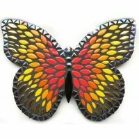 Admiral Butterfly - black/red