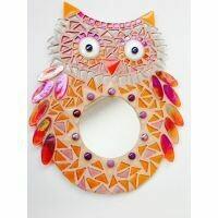 Peachy, large owl, 30cm