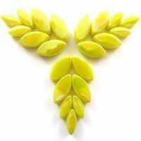 Glass Petals, Iridised Yellow