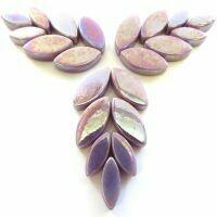 Glass Petals, Iridised Lilac