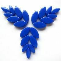 Glass Petals, Brilliant Blue