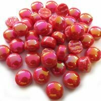 Pearlised Bright Red 12mm