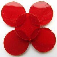 Crimson circles