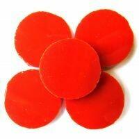 Carmine circles