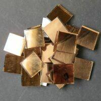 Mirror squares, Copper, 20mm x20mm