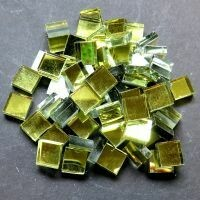 Mirror squares, Gold, 10mm x10mm