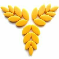 Glass Petals, Warm Yellow