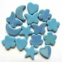 Glass Charms - Turquoise