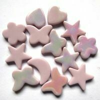 Glass Charms - Pink