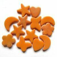 Glass Charms - Orange