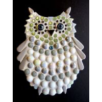 Small Owl - white